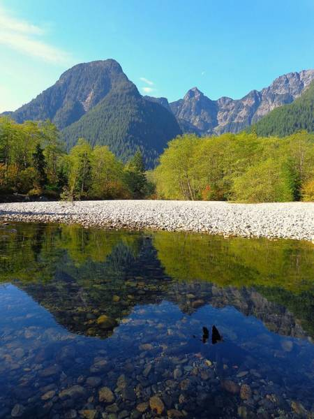 Alouette Wall Art - Photograph - North Trail - Golden Ears Prov. Park, British Columbia by Ian Mcadie
