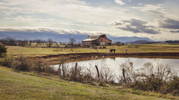 Photograph - Mountain View Barn by Heather Applegate