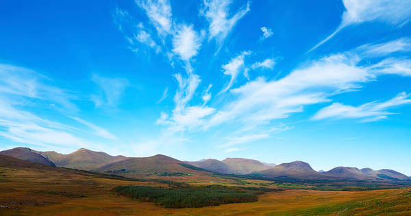 Moorland Photograph - Mountain Views Of The Macgillicuddys by Panoramic Images
