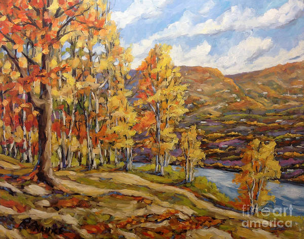 Wall Art - Painting - Mountain Vista By Prankearts by Richard T Pranke