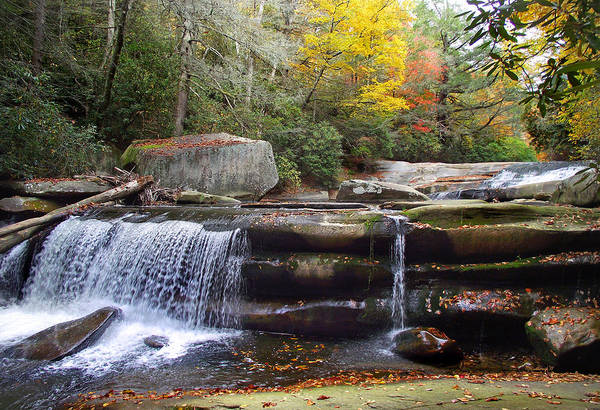 Photograph - Mountain Waterfall 2 by Duane McCullough