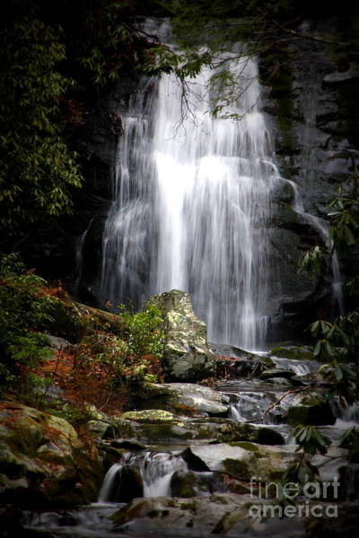 Photograph - Mountain Waterfall by Cynthia Mask