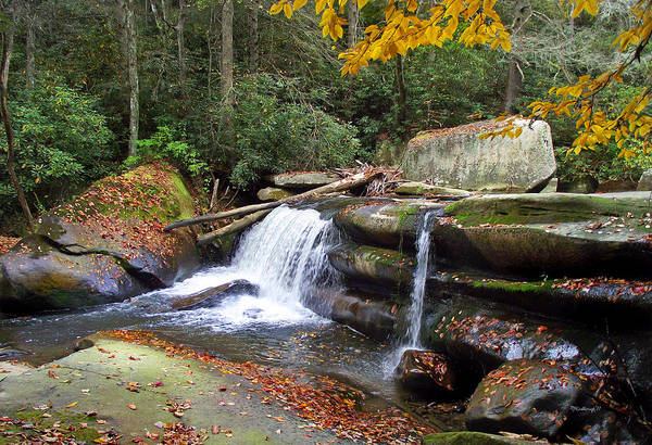Photograph - Mountain Waterfall by Duane McCullough