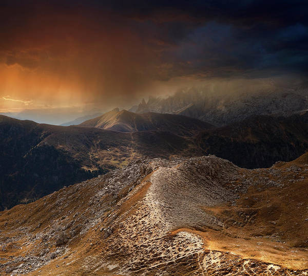 Thunderstorm Wall Art - Photograph - Mountain Weather by Nicolas Schumacher
