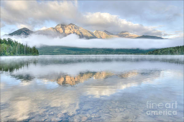 Photograph - Mountains And Fog by Wanda Krack