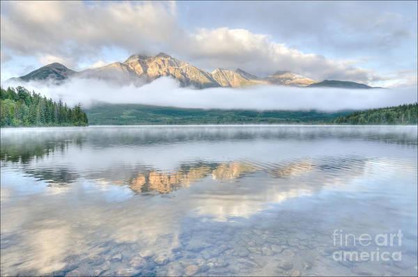 Mountains And Fog Art Print