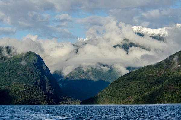 Photograph - Mountains Of Bute Inlet 3 by Roxy Hurtubise