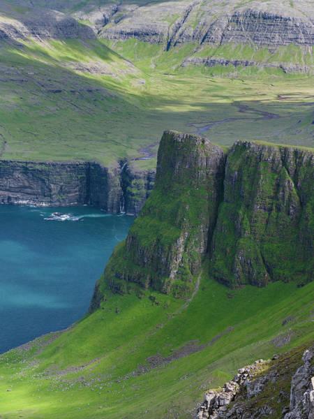 Faroe Island Wall Art - Photograph - Mountains Of Vagar, Denmark, Faroe by Martin Zwick