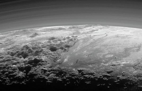 Sputnik Wall Art - Photograph - Mountains On Pluto by Nasa/johns Hopkins University Applied Physics Laboratory/southwest Research Institute