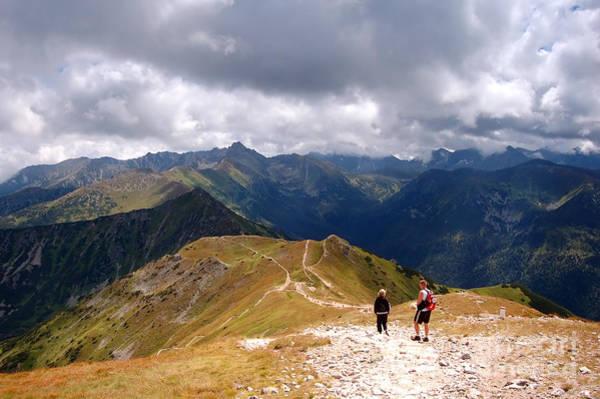 High Tatras Wall Art - Photograph - Mountains Stormy Landscape by Michal Bednarek