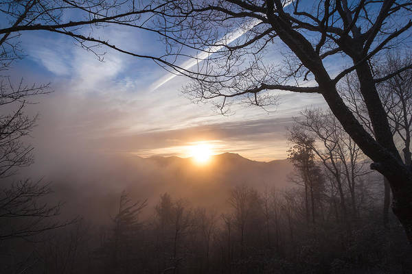 Photograph - Mountaintop Sunrise by Maria Robinson