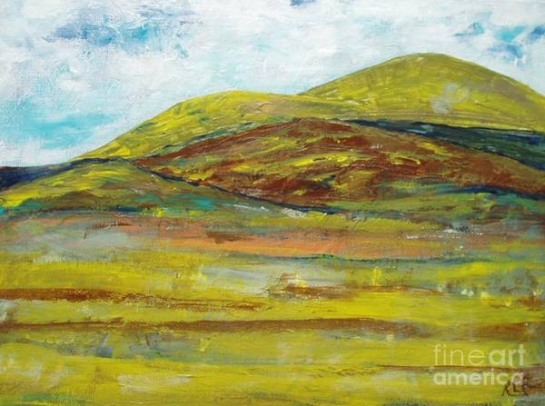 Painting - Mountains  by Reina Resto