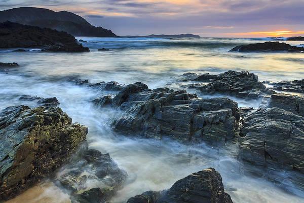Mourillar Beach Galicia Spain Art Print