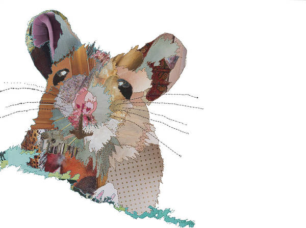 Stitch Painting - Mouse by MGL Meiklejohn Graphics Licensing