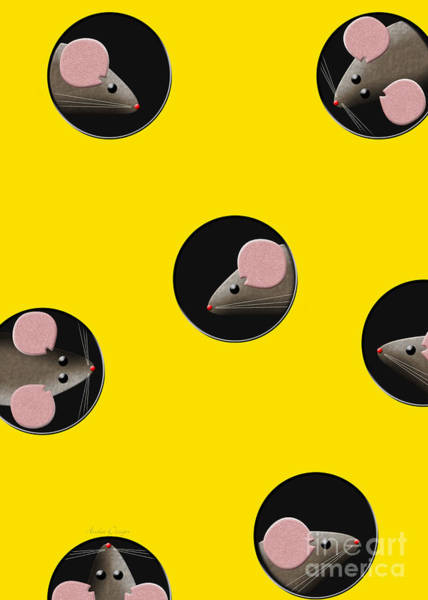 Digital Art - Mouse Condo by Andee Design
