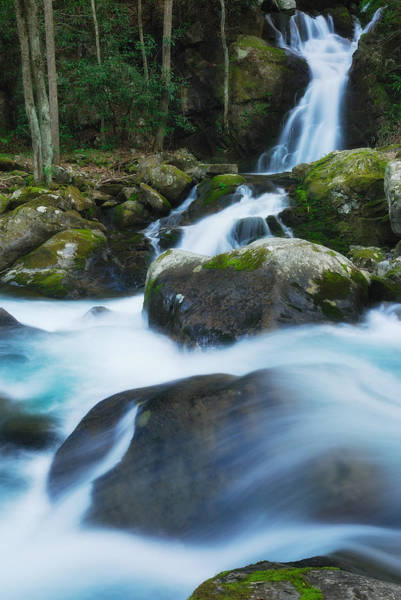 Photograph - Mouse Creek Falls In Colour by Photography  By Sai