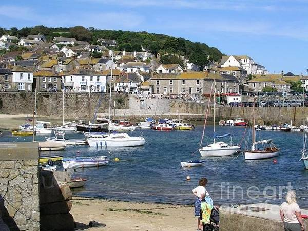 Wall Art - Photograph - Mousehole  England by Bev Conover