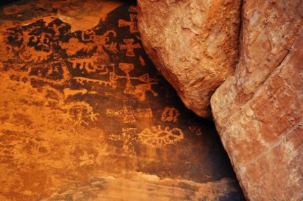Photograph - Mouse's Tank Petroglyph Canyon by Kyle Hanson