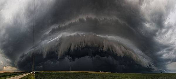 Shelf Cloud Photograph - Mouth Of The Beast by Rich Lewis