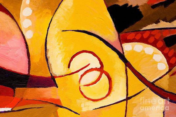 Penetrate Painting - Movement by Lutz Baar