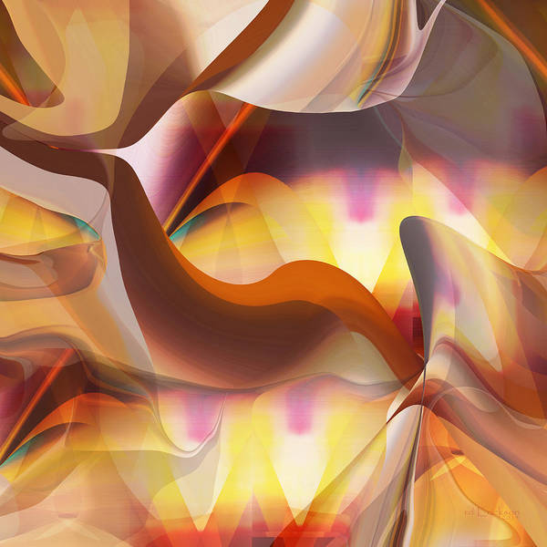 Digital Art - Movement Number One by rd Erickson