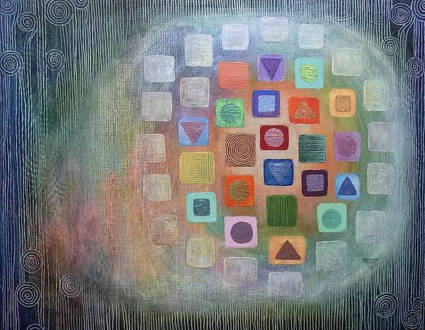 Wall Art - Painting - Movement Of Colour And Light by Jennifer Baird