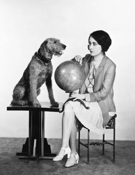 Photograph - Movie Star Dorothy Sebastian by Underwood Archives