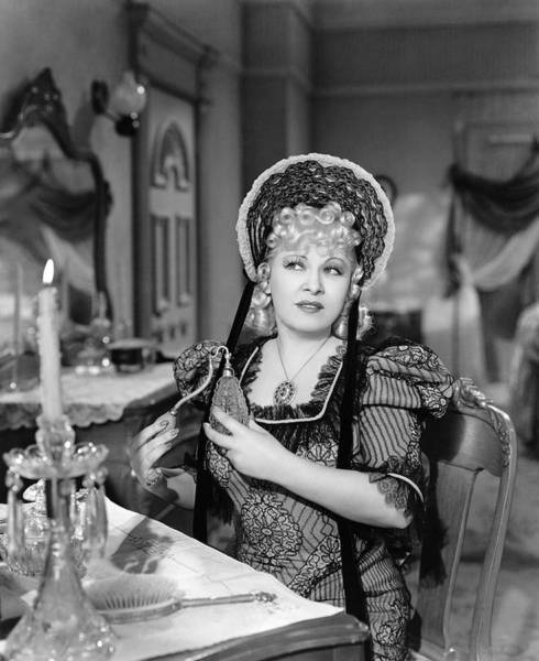 Photograph - Movie Star Mae West by Underwood Archives