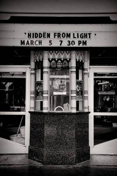 Photograph - Movie Theater by Rudy Umans