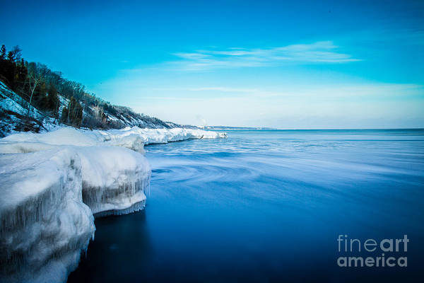 Wall Art - Photograph - Moving Ice by Andrew Slater