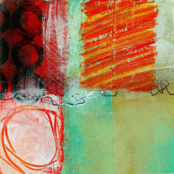 4 Wall Art - Painting - Moving Through 4 by Jane Davies