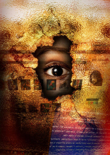 Digital Art - Mr C's Watching Me by Alessandro Della Pietra