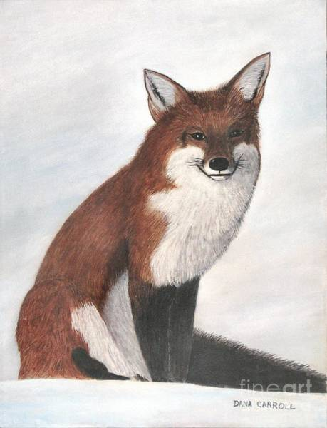 Mr Fox Art Print by Dana Carroll