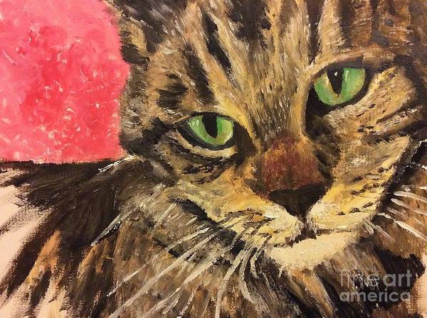 Painting - Mr Maowell by Abbie Shores