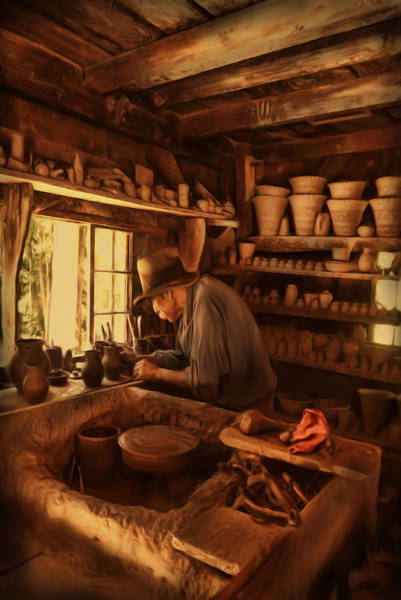 Clay Pot Photograph - Mr. Potter by Lourry Legarde