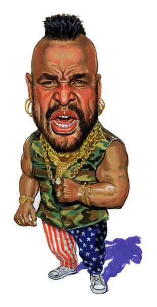 Wall Art - Painting - Mr. T by Art