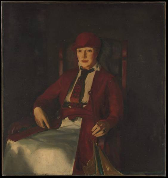 Central America Painting - Mrs. Chester Dale by George Bellows