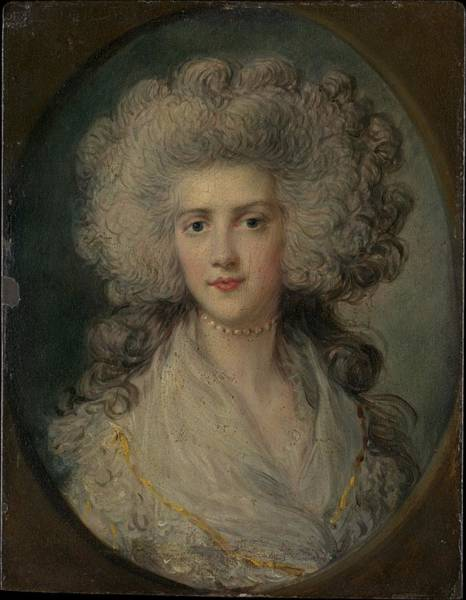 Dupont Wall Art - Painting - Mrs. John Puget Catherine Hawkins by Attributed to Richard Gainsborough Dupont