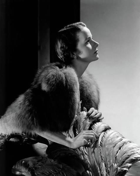 1939 Photograph - Mrs Marshall Hemingway by Horst P. Horst