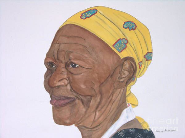 Painting - Ms. Sue by Peggy Dickerson