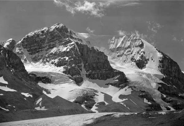 Photograph - 103779-bw-mt. Andromeda 2 Bw by Ed  Cooper Photography