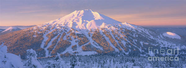 Wall Art - Photograph - Mt. Bachelor Sunrise by Ross Wordhouse