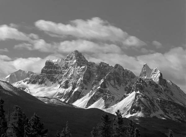 Photograph - 1m3840-mt Confederation Bw by Ed  Cooper Photography