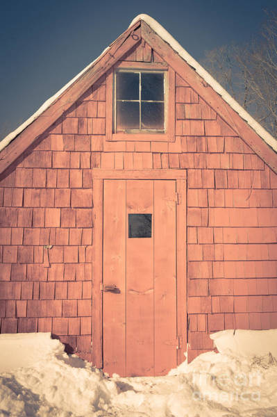 New England Barn Photograph - Mt. Cube Sugar Shack Orford New Hampshire by Edward Fielding