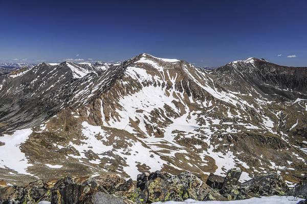 Kite Photograph - Mt. Democrat by Aaron Spong