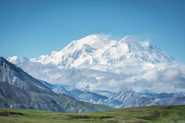 Wall Art - Photograph - Mt. Denali - Alaska 20,310' by Jeffrey C. Sink