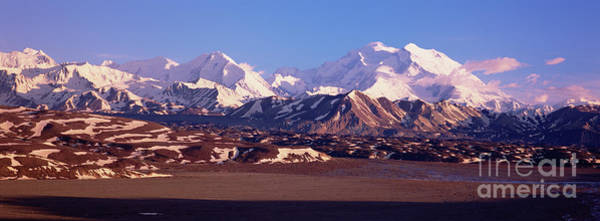 Wall Art - Photograph - Mt Denali In Spring Snow by Yva Momatiuk John Eastcott