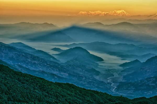 Photograph - Mt. Dhaulagiri by U Schade