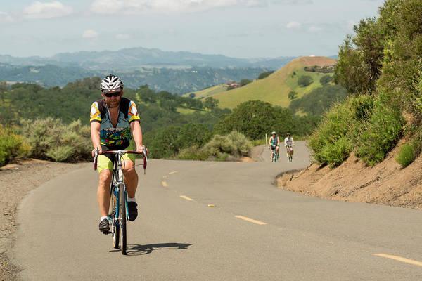 Mt. Diablo Wall Art - Photograph - Mt Dialbo Bike Ride by Terry Schmidbauer
