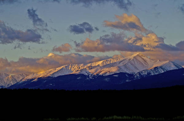 Fourteener Photograph - Mt Elbert Sunrise by Jeremy Rhoades
